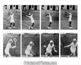 Alice Marble Playing Tennis  5207