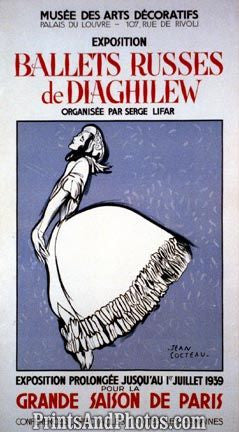 Ballet Russes de Diaghilew  Ad  5215