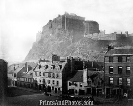 Edinburgh Castle Scotland  5252