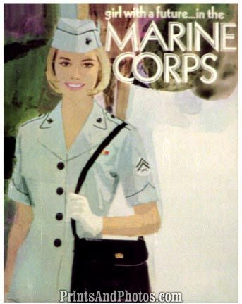 Girl With A Future Marines Corps  5287