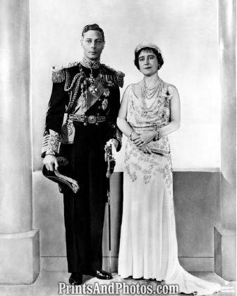 King George VI & Queen Elizabeth  5308