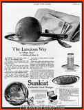 Early Sunkist Oranges Ad 5341