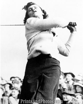 Babe Didrikson Golf Swing 1  5372