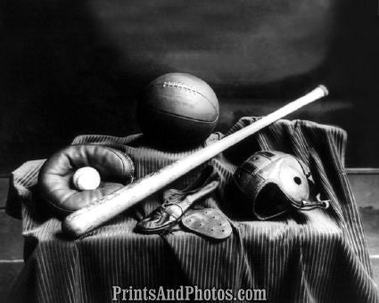 Early Sports Equipment Great  5383