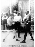 Boxers Marty Cutler & Jack Johnson 5401