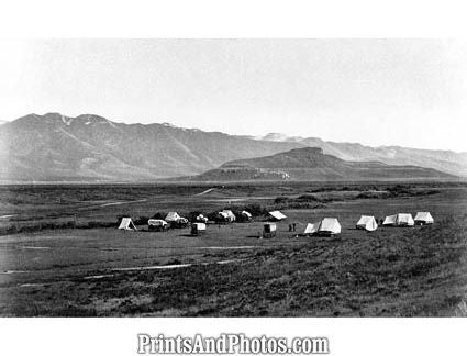 Camp in Cache Valley  5413