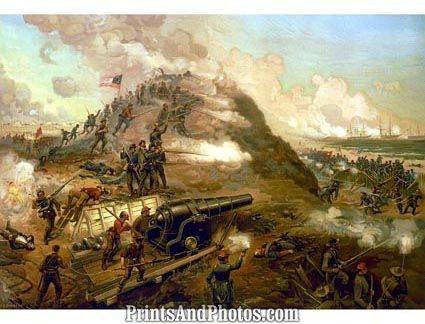 Capture of Fort Fisher  5415