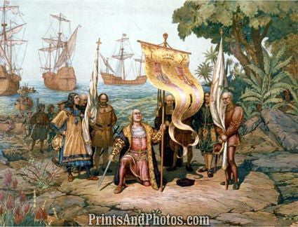 Christopher Columbus PRINT 5430