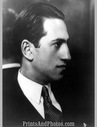 Composer George Gershwin  5499