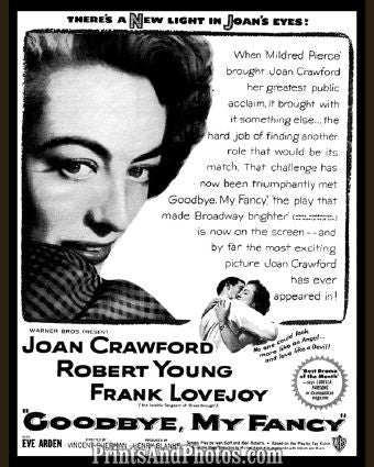 Goodbye My Fancy Joan Crawford  5509