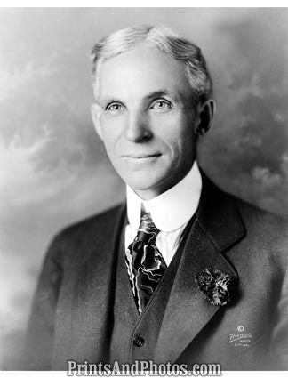 Industrialist Henry Ford  5526