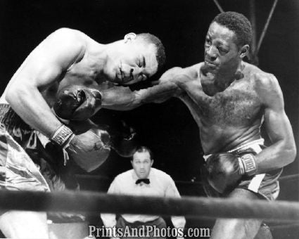 Joe Louis vs Ezzard Charles  5557