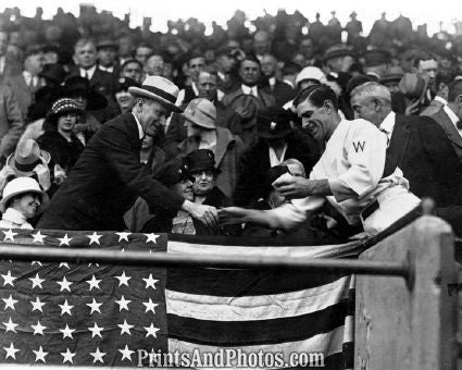 President Coolidge Baseball  5583