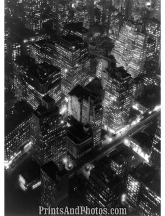 New York City at Night  5608