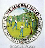 Baseball Shirt 1869 Ad Reprint 5933