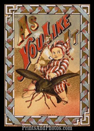 As You Like it Hatch & Co NY Print 5965