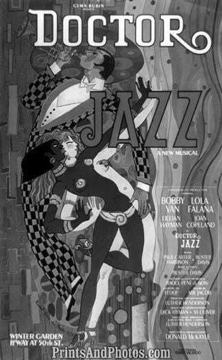 Doctor Jazz Musical  Print 6029