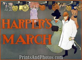 Harper's March  Print 6085