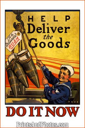 Help Deliver Goods War  6091
