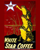 Frogs White Star Coffee  6216