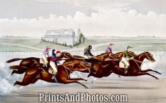 American Jockey Club Race Print 6342