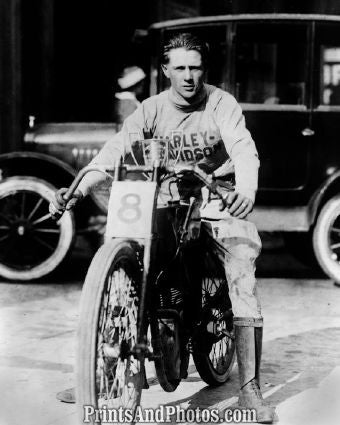 Early Harley Cycle Racer  6425