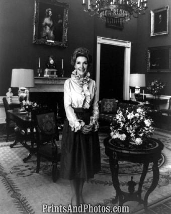 Nancy Reagan White House  6437