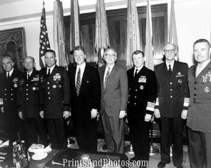 Clinton & Joint Chiefs Staff  6450