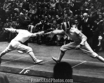 Italy & Hungary Fencing  6471