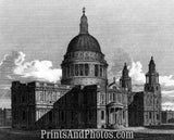 St. Pauls Cathedral London Print 6477