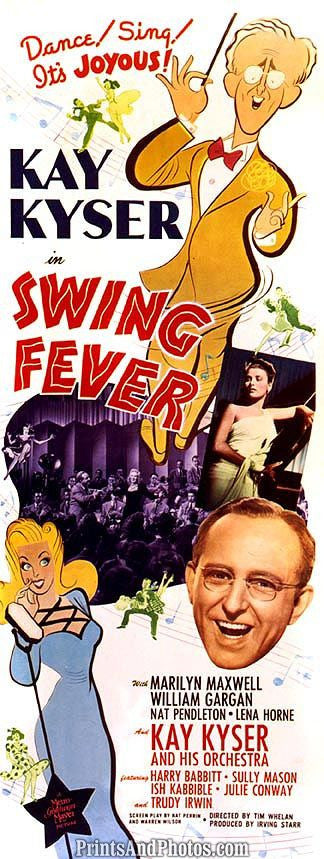 Swing Fever Kay Kyser  6478
