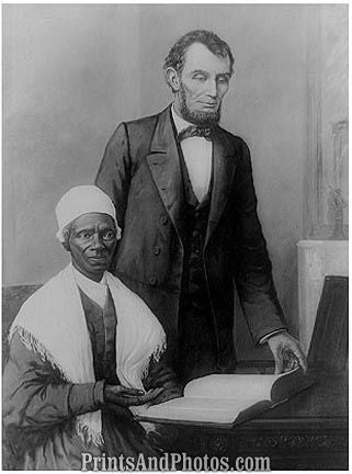 Lincoln & Sojourner Truth  6647