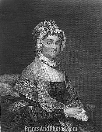 1st Lady Abigail Adams  6655
