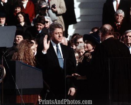Bill Clinton takes Oath  6667