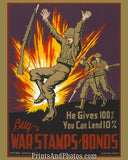 Buy War Stamps & Bonds  6669