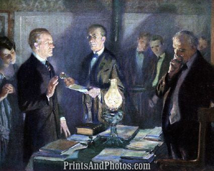 Calvin Coolidge Takes Oath  6670