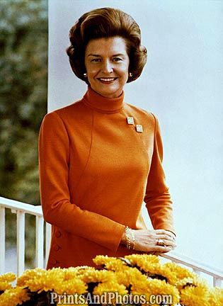 1st Lady Betty Ford  6692