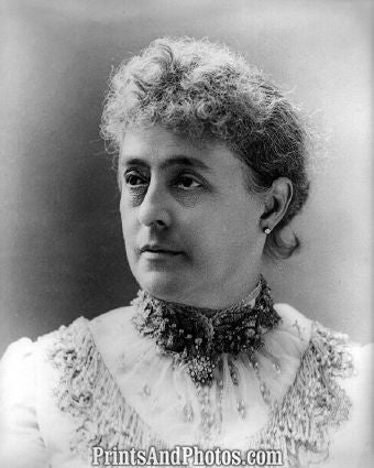 1st Lady Mrs. Benjamin Harrison 6721