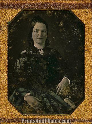 1st Lady Mary Todd Lincoln 6725