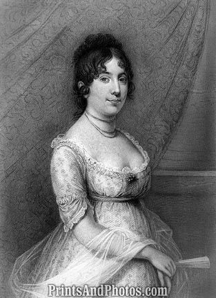 1st Lady Dolley Madison  6727
