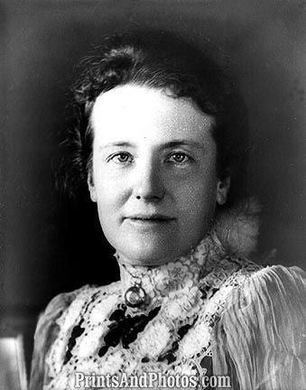 1st Lady Edith Roosevelt  6751