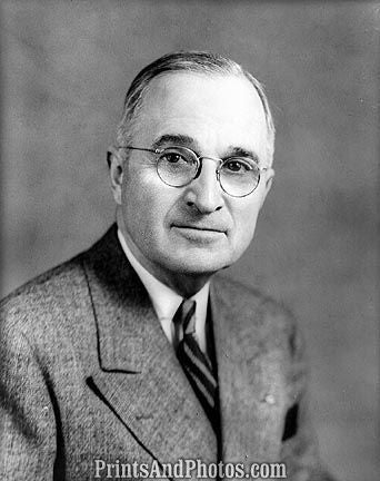 President Harry Truman Portrait 6771