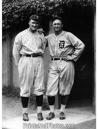 Ty Cobb Walter Johnson  6780