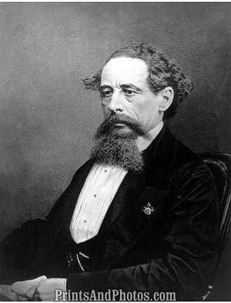 Author Charles Dickens  6795