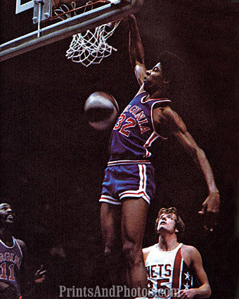 Julius Erving ABA Squires  6797
