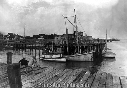 Southport Maine Fish Docks  6824