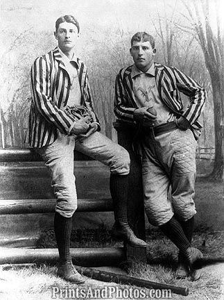 Early Yale Baseball Players  6831