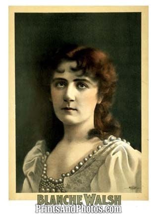 Actress Blanche Walsh  6853