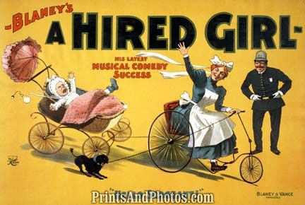Blaney's Hired Girl Vaudeville  6855