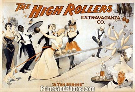 High Rollers Bowling Vaudeville  6902